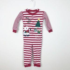 Miniwear Christmas Santa Pajamas Onsie Size 2T